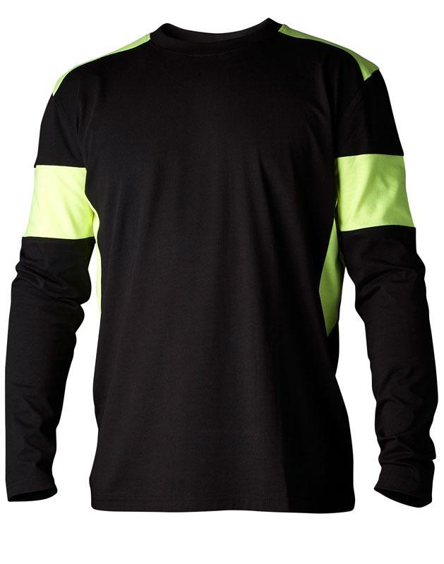T-shirt 212 långärmad svart/gul