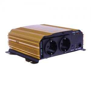 Inverter 12 V / 600 W med USB-uttag 5 V/2.1 A