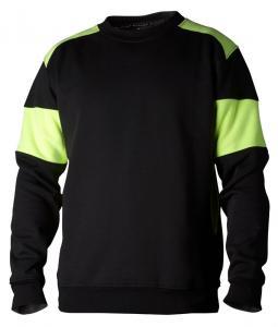 Sweatshirt 221 svart/gul