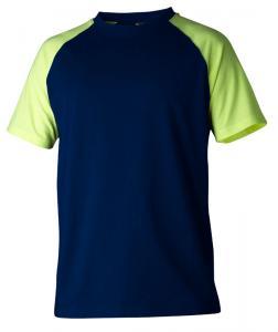 T-shirt 225 marin/gul