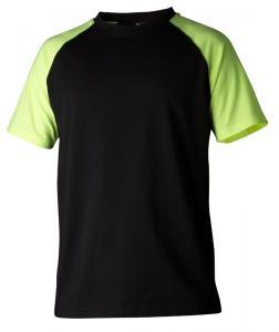 T-shirt 225 svart/gul