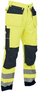 Hantverksbyxa klass 2 gul/marin