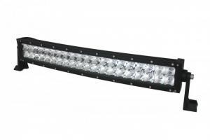LED-ljusramp Böjd, 96x3W, 1273mm