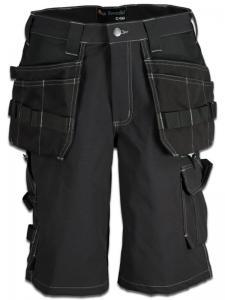 Shorts 4-väg stretch svart