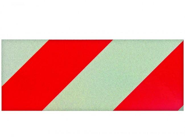 Reflextejp röd/vit 50mm x 5M
