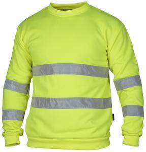 Sweatshirt varsel gul