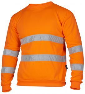 Sweatshirt Varsel orange
