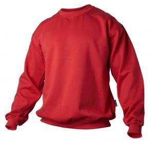 Sweatshirt röd