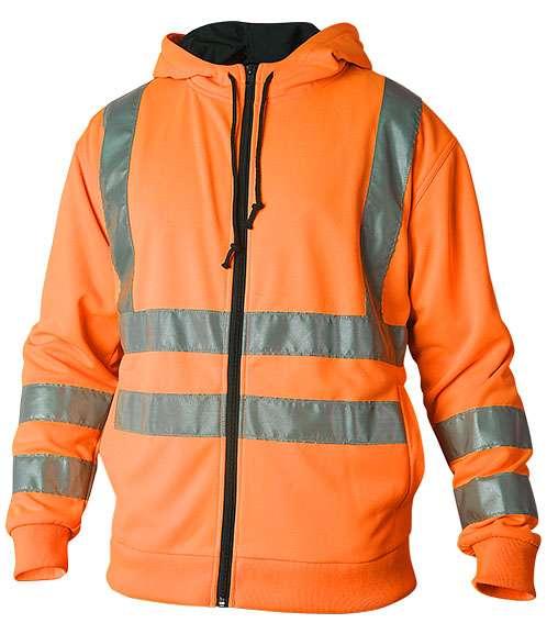 Hood varsel orange