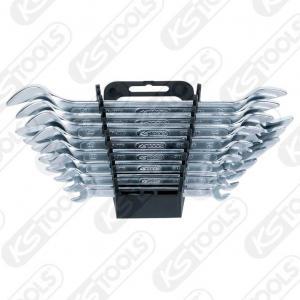 KS Tools, CLASSIC DUBBEL-NYCKELSATS, 8-DELAR, 6X7-20X22MM