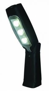 Arbetslampa 4 LED m/böjbar+magnet