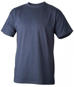 T-Shirt bomull marin