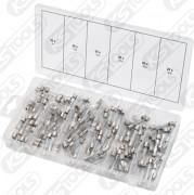 Sortiment glassäkringar, 5-30A, 120-delars