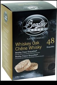 Rökbriketter 120-pack Whiskey Ek