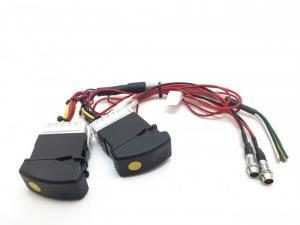 Kablage DAF delad med knappar
