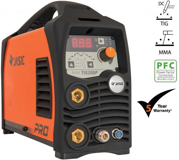 JASIC PRO TIG 200P DC PULSE PFC WIDE VOLTAGE