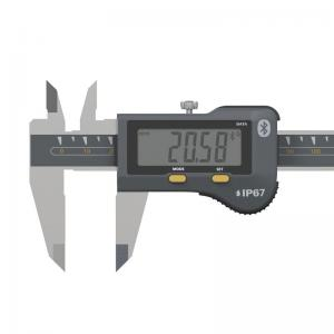 SYLVAC IP67 digital Caliper S_Cal EVO Standard 150 mm (810.1507) djuphålsmätare Ø1,5 mm