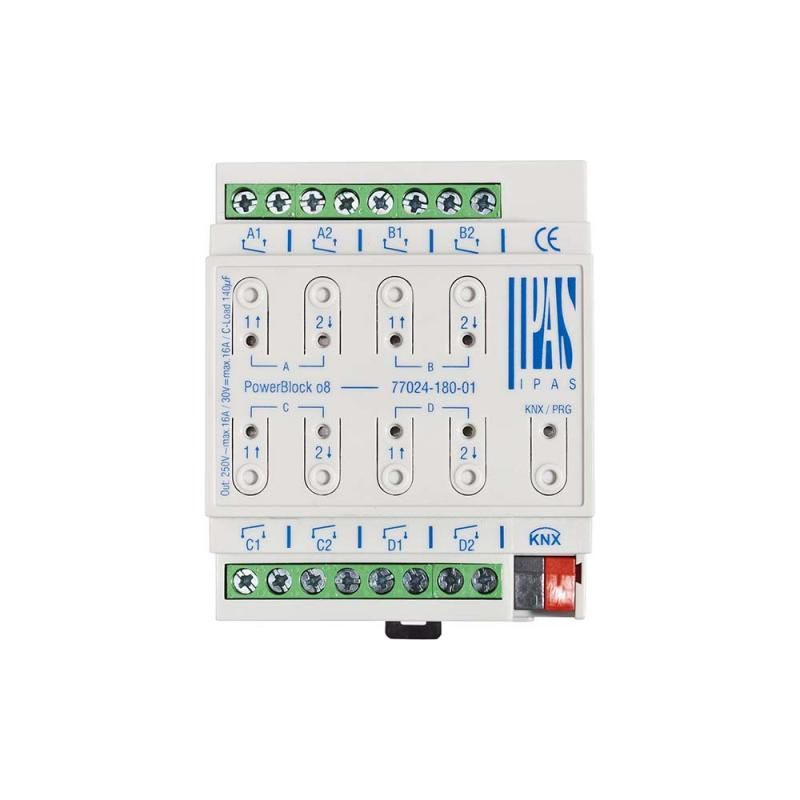 PowerBlock o8 - KNX actuator