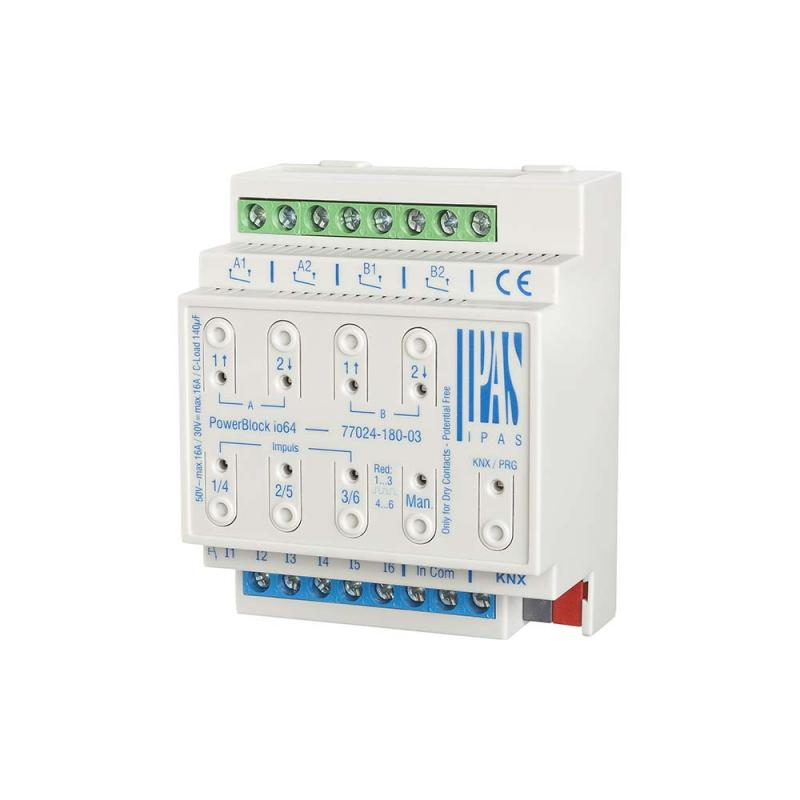 PowerBlock io64 -- KNX actuator with inputs