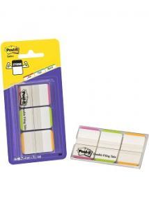 Post-it® Index Strong lj-färg m.skrivfält