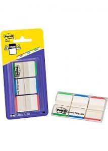 Post-it® Index Strong st.färg m.skrivfält (kort 3 block)