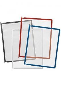 Durable Panel med stift A4 röd
