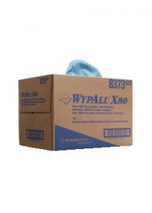 Wypall* Torkduk X80 BRAG Box blå (fp om 160 blad)