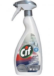 Cif Allrengöring Prof Badrum 2in1 750ml (flaska om 750 ml)