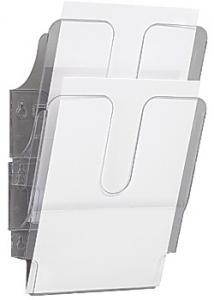 Durable Blankettfack FlexiPlus A5S 2-fack transp