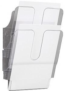 Durable Blankettfack FlexiPlus A4S 2-fack transp