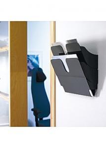 Durable Blankettfack FlexiPlus A4L 2 fack svart