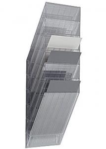 Durable Blankettfack Flexiboxx A4S 6-fack transp