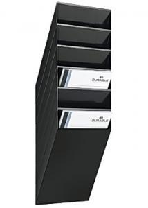 Durable Blankettfack Flexiboxx A4S 6-fack svart
