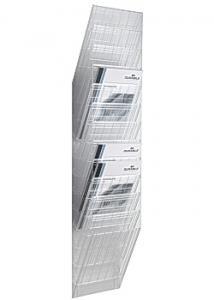 Durable Blankettfack Flexiboxx A4S 12-fack trans