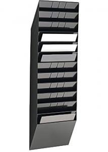 Durable Blankettfack Flexiboxx A4L 12-fack svart