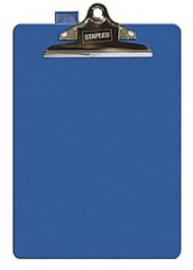 Skrivplatta enkel blå