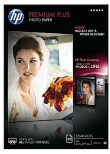 Hewlett Packard Fotopapper CR673A A4 300g (fp om 20 blad)
