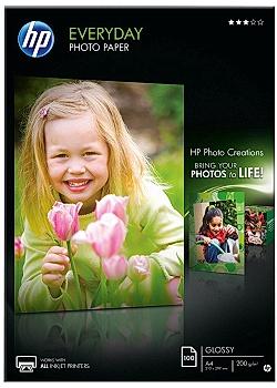 Hewlett Packard Fotopapper Q2510A A4 200g (fp om 100 blad)