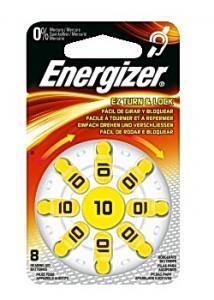 Energizer Batteri hörsel 10 gul (fp om 8 st)