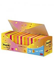 Post-it® Notes Värdepack 76x76 mm (fp om 24 block)