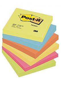 Post-it® Notes Energetic 76x76mm