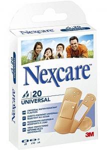 Nexcare Plåster Universal 3 strl (fp om 20 st)
