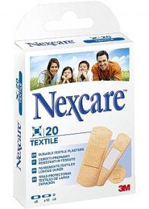 Nexcare Plåster Textil 3 strl (fp om 20 st)