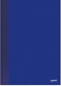 Anteckningsbok A4 linjerad blå (block om 96 blad)