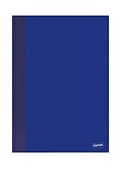 Anteckningsbok A5 linjerad blå (block om 96 blad)