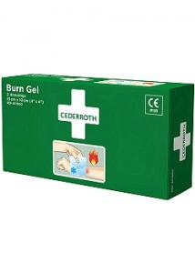 Cederroth Kompress Burn Gel 10x10 cm (fp om 2 st)