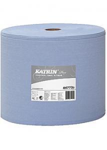 KATRIN Industritorkrulle Plus XL3 blå 370m (rulle om 370 m)