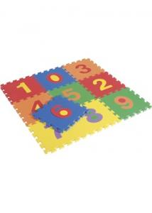 Siffror golvmatta 10 delar (fp om 10 st)