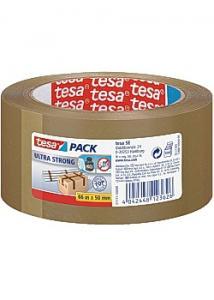tesa® Packtejp Ultra Strong 66mx50mm brun (rulle om 65 m)