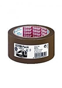 tesa® Packtejp Strong 66mx50mm brun (rulle om 66 m)
